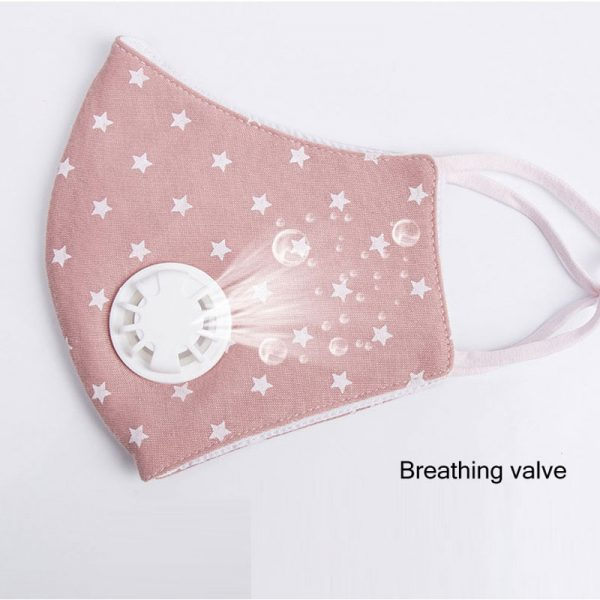 Anti Pollution Mask With Breathing Valve